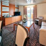 'SG' Grand Suite with balcony on the Celestyal Majesty cruise ship
