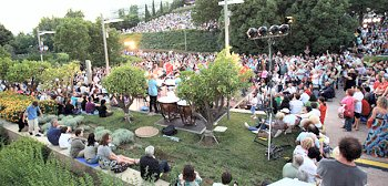 Concert at the Athens Concert Hall gardens