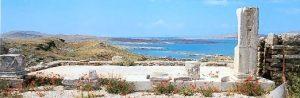 The island of Delos