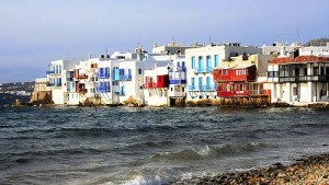 'Little Venice' on Mykonos