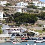 View of Ornos village