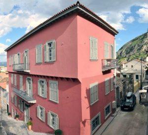 The Grand Sarai hotel in Nafplio