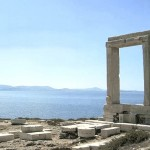 The 'Portara', landmark of Naxos
