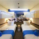 'IA' Inside cabin (~ 12sqm) - Athena & Hermes decks