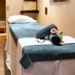 Ouranos deck: massage & sauna room