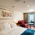 'SB' Balcony Suite on the 'Celestyal Odyssey'