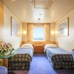 'XE' Outside cabin on the 'Celestyal Odyssey'