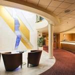 Selene deck: reception area