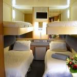 'IA' Quadruple inside cabin on the 'Celestyal Olympia' cruise ship