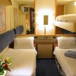 'IA' Triple inside cabin