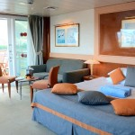 'SG' Grand Suite on the 'Celestyal Olympia' cruise ship