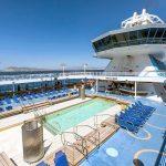 Hera deck: swimming pool area