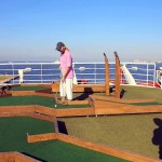 Compass deck: mini golf