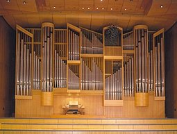 The organ at the 'Megaron' Athens conecrt hall
