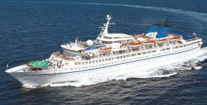 The 'Orient Queen' cruise ship