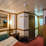 Cat. 'C' cabin on the Lower deck of the cruise ship