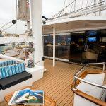 Upper deck - outdoor area