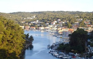 Gaios, the main port of Paxoi