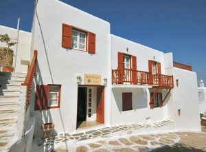 The Petassos Town hotel in Mykonos