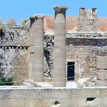 The Temple of Athena on the Acropolis of Lindos