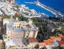 The Old City of Rhodes, the Grand Master's Palace and the port of Mandraki