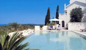 The Robin's Nest villa in Corfu