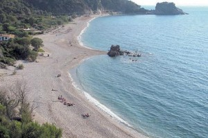 Samos: Potami beach