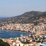 Samos: Vathy, the capital of the island