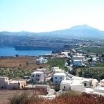 Santorini: Akrotiri village