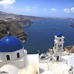 View of the Caldera of Santorini