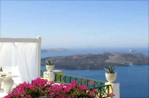 View to the Caldera from the 'Dana Villas'