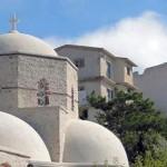Santorini: Prophetis Elias monastery
