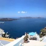 View of the Caldera of Santorini