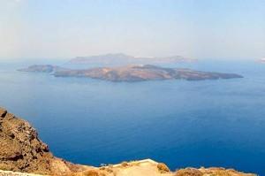 Santorini: Nea and Palia Kameni islets