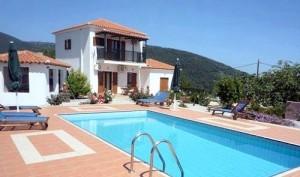 Villa Katerini on the island of Skopelos