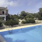 Yakovos Villa pool area and gardens