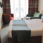 Outside Deluxe plus cabin with balcony (A)