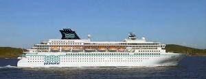 The cruise ship 'Zenith'