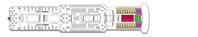 Deck: '' / Vessel: 'Zenith' cruise ship