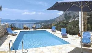 Zita Villa, the pool terrace